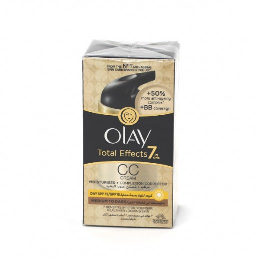 Olay Total Effects 7in1Medium to Dark CC Cream 50ml