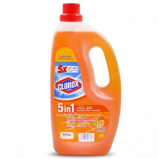 Clorox 5 in 1 Disinfectant Cleaner Orange 1.5 L