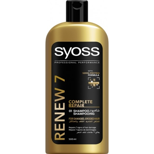Syoss Renew 7 Complete Repair 01 Shampoo 500 ml