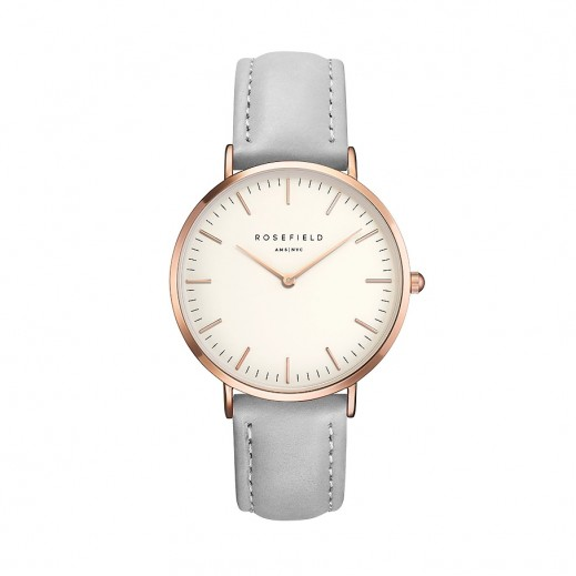 Rosefield The Bowery Grey Women's Watch - delivered by Beidoun after 4 Working Days