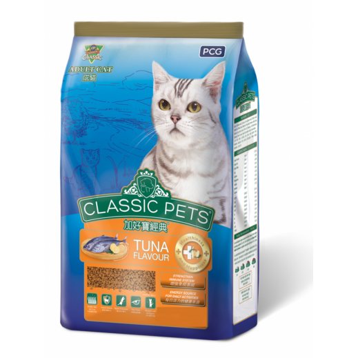 PCG Classic Pets Adult Cat Food Tuna 7 kg