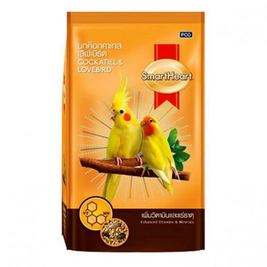 SmartHeart Enhanced Vitamins & Minerals Cockatiel LoveBird Food 1 kg