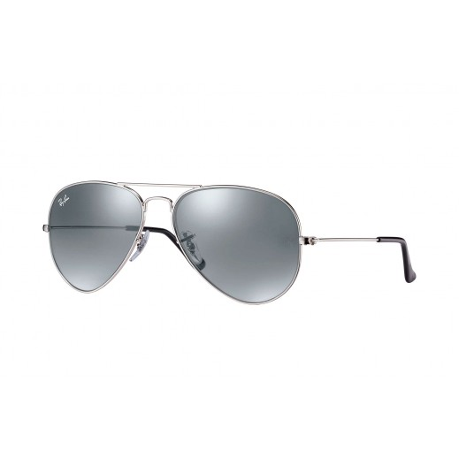 Ray-Ban Aviator Silver Mirror Unisex Sunglasses - 58 mm - delivered by Waleed Optics