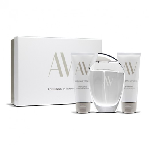 AV Adrienne Vittadini Gift Set For Her EDP 100 ml + Shower Gel 100 ml + Body Lotion 100 ml