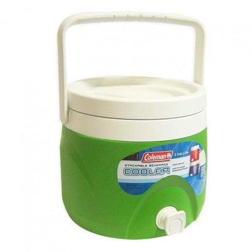 Coleman Polylite Round Cooler 2 GL -Green