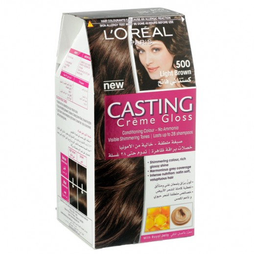L'Oreal Paris Casting Crème gloss Light Brown 500 Hair Color
