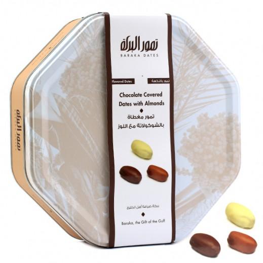 Baraka With Dark Chocolate & Almonds Tin Box 600 g