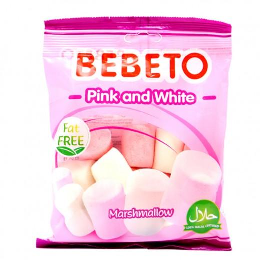 Bebeto Pink & White Marshmallow 60 g