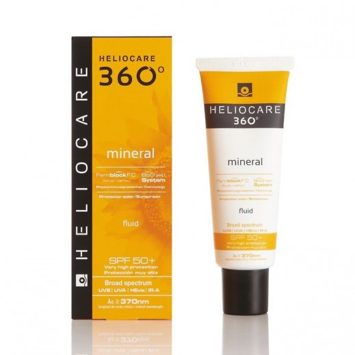 Heliocare 360 Degree Mineral Fluid SPF 50+ Sunscreen 50 ml