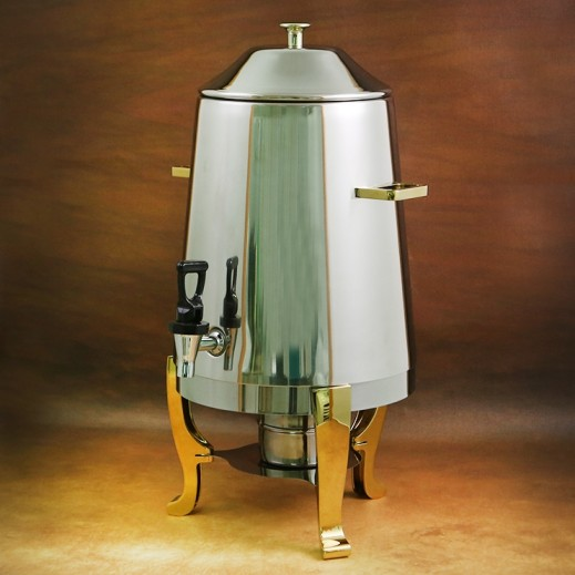 Stainless Steel Hot Drinks Dispenser with Stand 13 L