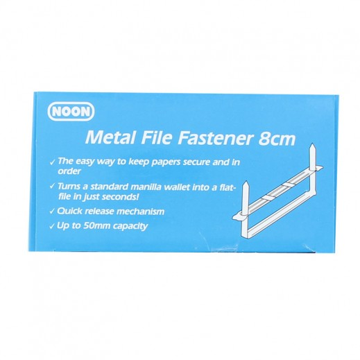 Noon 8 cm Metal File Fastener Box 50 pieces
