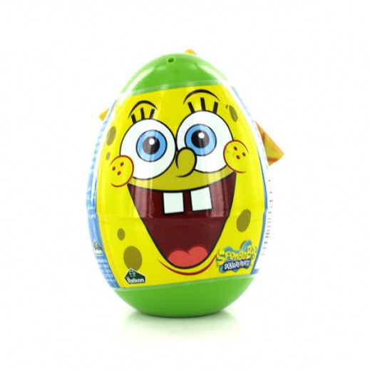 Sponge Bob Egg With Candies 10g