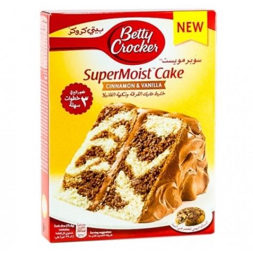 Betty Crocker Super Moist Cinnamon & Vanilla Cake Mix 500 g
