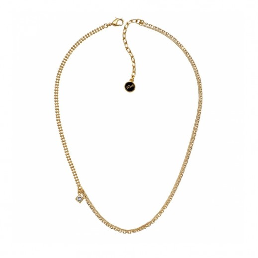 Karl Lagerfeld Mixed Gold Necklace - delivered by Beidoun after 3 Working Days