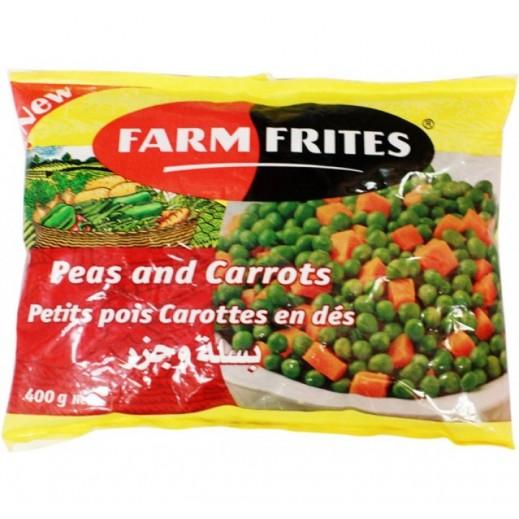 Farm Frites Frozen Green Peas & Carrots 400 g