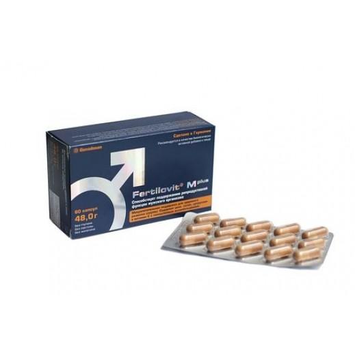 Fertilovit Mplus Dietary Supplement For Male Fertility Issues 60 Capsule