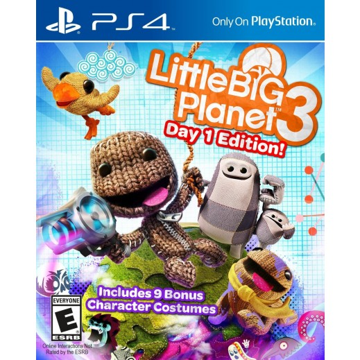 Little Big Planet 3 For PS4 – NTSC
