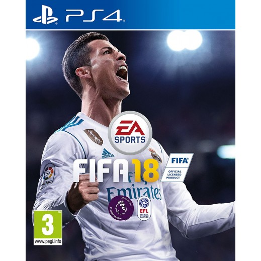 FIFA 18 for PS4 - PAL (Arabic)
