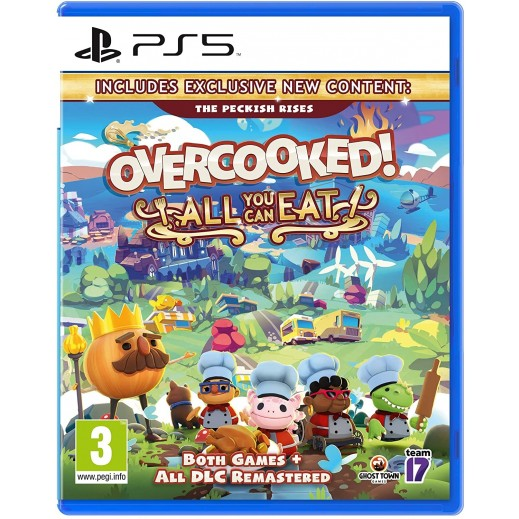 Overcooked! All You Can Eat for PS5 – PAL