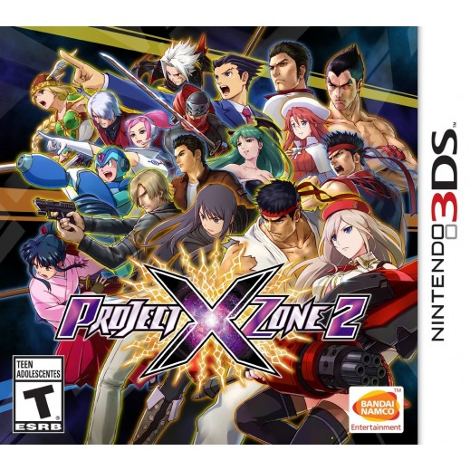 Project X Zone 2 for Nintendo 3DS - NTSC