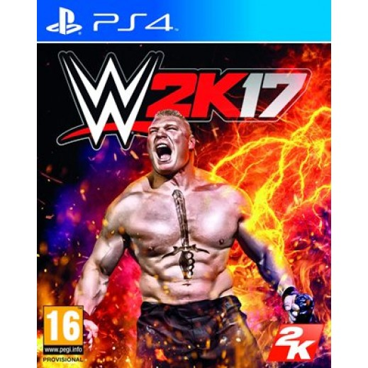 WWE 2K17 for PS4 - PAL (Arabic)