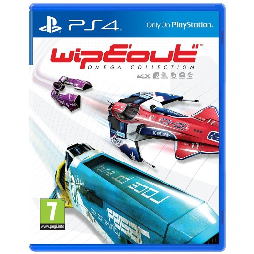 Wipeout Omega Collection for PS4 - PAL