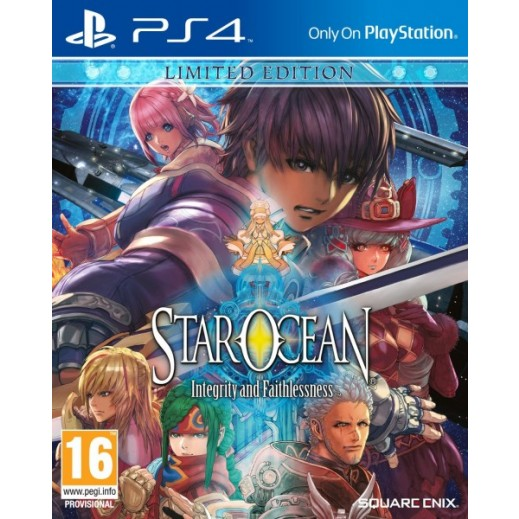Star Ocean: Integrity and Faithlessness Limited Edition for PS4 - PAL