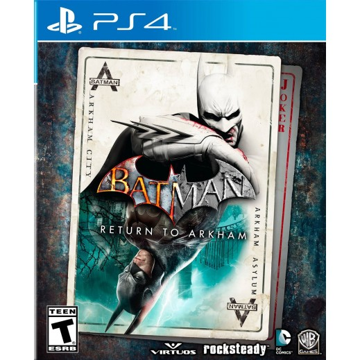 Batman: Return to Arkham for PS4 - NTSC