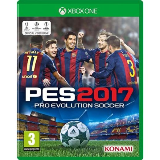 Pro Evolution Soccer 2017 for XBox One - PAL (Arabic)