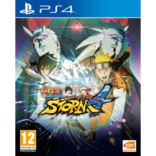 Naruto Shippuden: Ultimate Ninja Storm 4 for PS4 - PAL