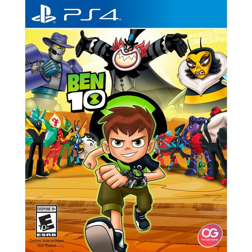 Ben 10 for PS4 - NTSC