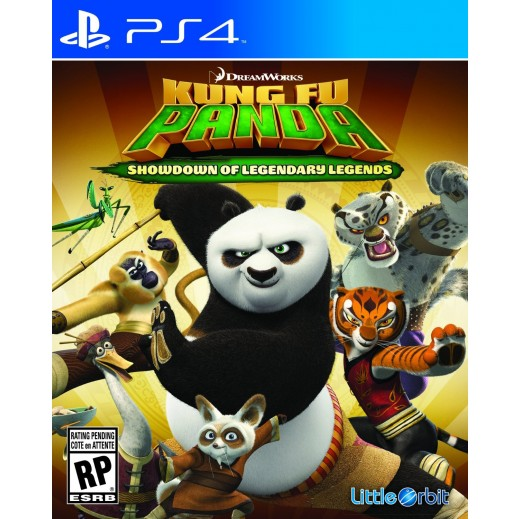 Kung Fu Panda: Showdown of Legendary Legends for PS4 - NTSC