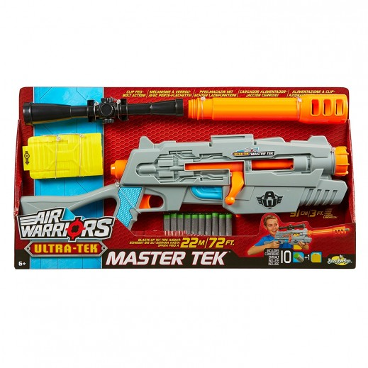 BuzzBee Air Warriors UltraTek Master Tek Softdart Blaster Gun