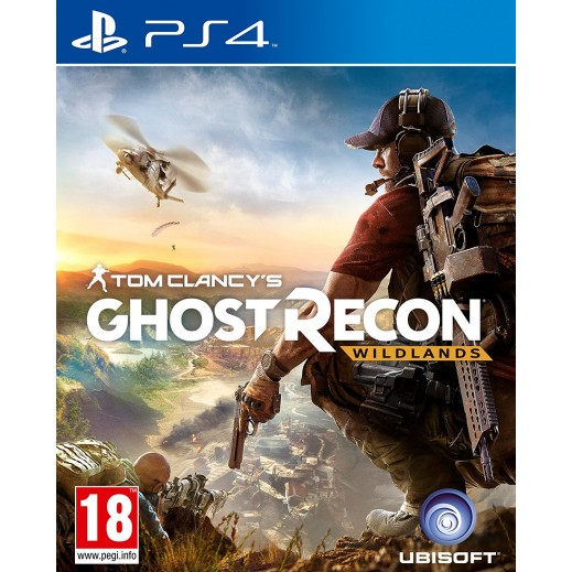 Tom Clancys Ghost Recon Wildlands for PS4 - PAL (Arabic)