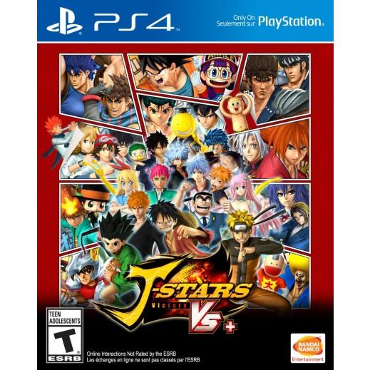 J-Stars Victory Vs+ for PS4 - NTSC