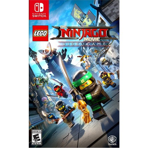 The Lego Ninjago Movie Videogame for Nintendo Switch - NTSC
