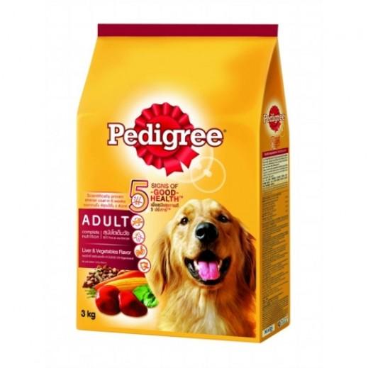 Pedigree Dog Food Liver & Vegetable 3 kg