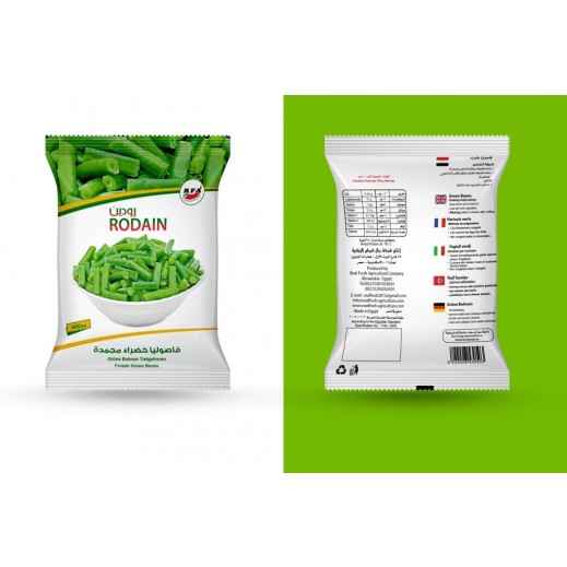 Rodain Frozen Cut Green Beans 400 g