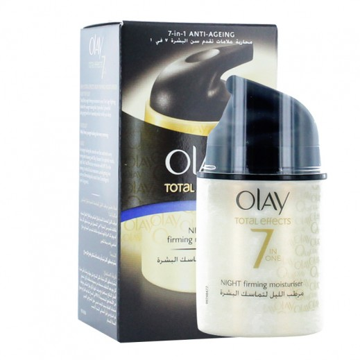 Olay Total Effects 7 In 1 Night Firming Moisturizer 50 ml