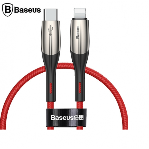 Baseus Data Cable Type-C to Lightning 18W 50 CM - Red