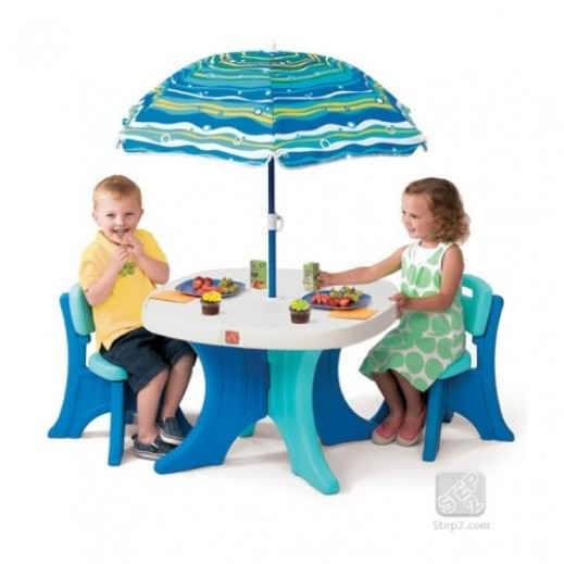 Step2 Play & Shade Patio Set - delivered by Shahaleel After 2 Working Days