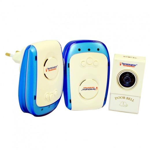 Terminator AC Dual Digital Wireless Doorbell