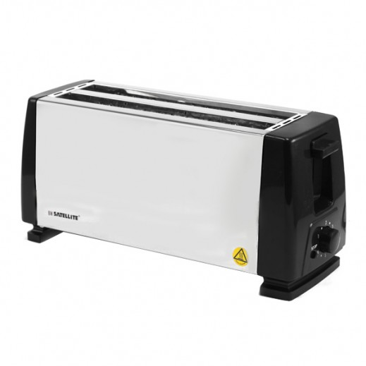 BM Satellite 4 Slice Bread Toaster Steel