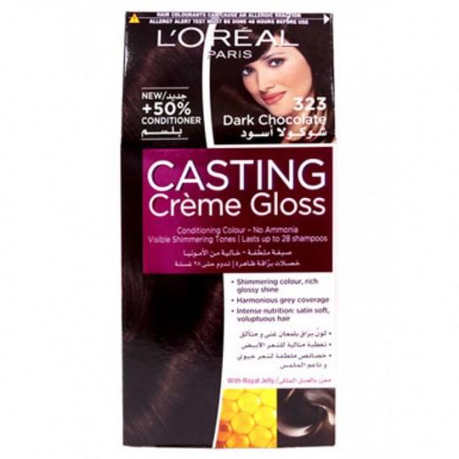 L'Oreal Paris Casting Crème gloss Dark Chocolate 323 Hair Color