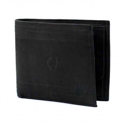 Charles Jourdan JLM716 Leather Wallet Black