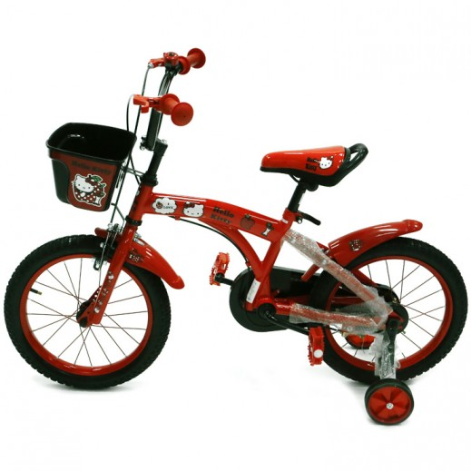 Hello Kitty Bicycle - Red - delivered by Click Toys