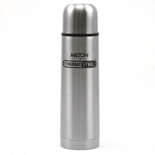 Milton Thermo Steel Bullet Flask W/Flip 1 L- Silver