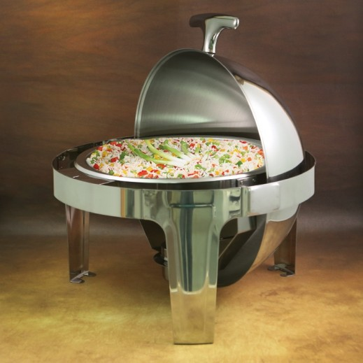 Stainless Steel Round Food Warmer