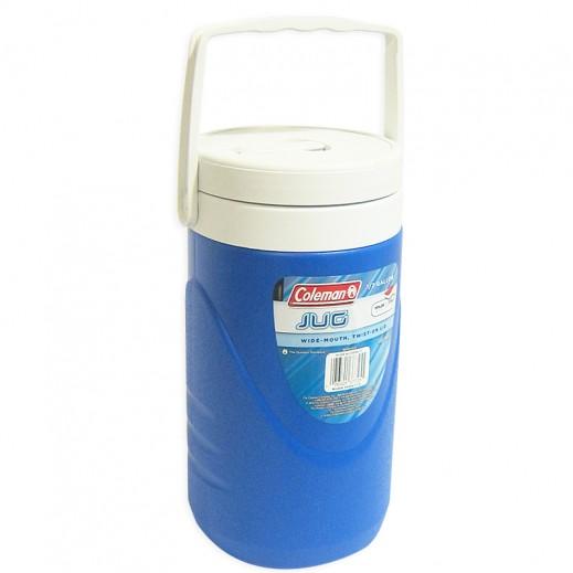 Coleman Round Cooler Jug 1/2 GL -Blue