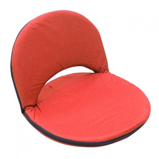 Foldable Floor Chair - Red